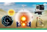 1 x camera video GoPro Hero 4 , 3 x schimb de ulei Castrol Edge
