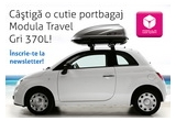 1 x cutie portbagaj Modula Travel Gri 370L