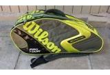 1 x termobag Wilson pentru 3 rachete de tenis