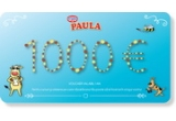 1 x voucher de 1.000 de euro, 1 x pereche casti audio, 1 x Sistem solar motorizat, 1 x costum de vacuța Paula, 1 x mini frigider, 100 x set marker cerneala invizibila, 3 x set tenis, 1 x kit cercetaș, 1 x set de magie, 10 x set materiale Paula, 1 x Patine cu rotile, 5 x voucher carti, 1 x masina cu telecomanda/ papușa/ Lego chima (friends)/ Tableta E-Boda