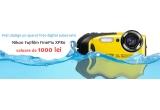 1 x Voucher Ondo de cumparaturi de 500 lei, 2 x Voucher Ondo de cumparaturi de 200 lei, 3 x Voucher Ondo de cumparaturi de 100 lei, 1 x aparat foto subacvatic Nikon Fujifilm FinePix XP80