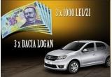 3 x masina Dacia Logan Ambiance, 234 x 1.000 de lei
