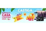 garantate: voucher Clickshop in valoare de 100 RON, 6 x voucher de discount cu valoare maxima de 98%