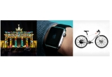 2 x ceas Apple, 2 x geanta de umar solara, 2 x sistem de sunet solar, 2 x  casuta solara pentru pasari, 2 x incarcator solar, 2 x eBike (bicicleta electrica), 1 x excursie la Berlin