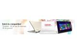 29 x laptop Toshiba Satellite Click Mini, 1 x laptop Toshiba Kirabook