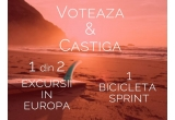 1 x excursie Youth exchanges in Europa, 1 x bicicleta Sprint GTS 2.0 21V