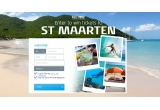 1 x 2 bilete de avion la St. Maarten