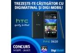6 x smartphone HTC D620 + abonament Optim 2