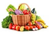 1 x cos plin cu fructe si legume
