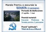 "o excursie proletara la Sovata pentru doua persoane<br type=""_moz"" />"
