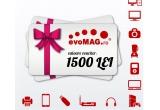 1 x voucher evoMAG in valoare de 1.500 de lei