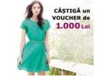 1 x voucher FashionUP in valoare de 1.000 de lei