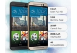 4 x smartphone HTC One M9