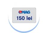 1 x excursie in parcul de distractii din Paris, 100 x voucher eMAG de 150 ron, 3000 x kit Zewa de curatat joaca