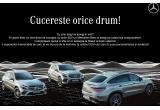 1 x weekend cu masina Mercedes-Benz GLE la Viscri 123 Transilvania, 1 x weekend cu masina Mercedes-Benz GLE Coupé + cursuri de pilotaj la scoala Titi Aur, 1 x weekend cu masina Mercedes-Benz GLE la Zabola
