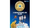 96 x telefon Philips sau Allview + abonament Digi Mobil Optim Nelimitat valabil 12 luni