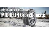 1 x set de 4 anvelope Michelin CrossClimate, 30 x ceas Michelin, 30 x manometru digital