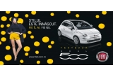 1 x weekend de test drive cu noul model Fiat 500 + combustibil inclus