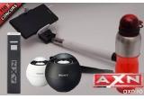 25 x sticla de apa portabila, 20 x husa pentru laptop, 10 x selfie stick, 5 x umbrela, 3 x boxa Sony, 1 x charger portabil