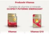 20 x Kit de vacanta –  cutie de   Vitamax x 15 cps + cutie de Vitamax Q10