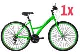 1 x bicicleta Shimano, 15 x pedometru