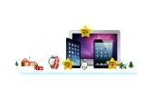 1 x laptop Apple MacBook Air, 1 x iPad Mini 4, 1 x iPad Air 2, 20 x voucher Carrefour de 300 ron