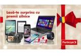 3 x smartphone Samsung Galaxy S6 Edge, 2 x ebook reader Kindle Paperwhite, 25 x voucher Kaufland de 200 ron, 1 x televizor LG 55UF8517 LED IPS 4K 3D Smart TV + 2 perechi de ochelari, 2 x tableta Samsung Galaxy Tab S2 T815, 1 x cumparaturi la Kaufland de 4.000 lei/televizor Smart TV de maxim 4.000 lei/laptop de maxim 4.000 lei, 2 x voucher Aoro de 900 de lei, 2 x smartwatch Samsung Gear S, 2 x voucher Kaufland in valoare de 500 lei, 1 x iPhone 6, 1 x televizor LG 40UF7787 LED IPS 4K Smart TV + telecomanda New Magic Remote, 1 x voucher F64 pentru aparatura foto-video de 1.000 lei, 1 x vacanța cu destinația la alegerea ta de 6000 lei