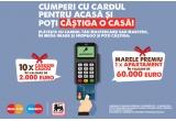 1 x apartament in valoare de 60.000 euro, 10 x card cadou de 2000 euro