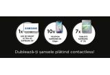 1 x televizor curbat Smart 3D Samsung, 10 x smartphone Samsung Galaxy S6 Edge Plus, 7 x tableta Samsung Galaxy S2