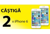 2 x iPhone 6 Gold