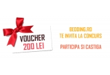 1 x voucher bedding.ro in valoare de 200 de lei