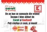 1 x voucher mobilier de 4000 euro, 100 x voucher Kaufland de 200 ron