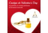 1 x sticluta-pandantiv a parfumului artizanal Godilicous - Love Cologne for Godesses