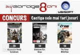 5 x Joc Ubisoft Assassin's Creed: Syndicate - The Rooks Edition pentru PC, 5 x Joc Ubisoft Tom Clancy's Rainbow Six: Siege pentru PC, 5 x Joc Ubisoft The Crew: Wild Run PC