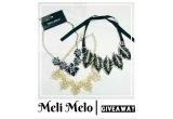 3 x colier statement Meli Melo