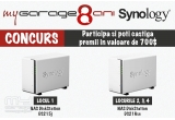 1 x Network Attached Storage Synology DiskStation DS215j, 3 x Network Attached Storage Synology DiskStation DS216se