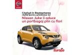 14 x portbagaj plin cu flori livrat cu o masina marca Nissan Juke