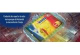1000 x Fular personalizat Bancpost si Echipa Nationala de Fotbal, 2 x Pachet turistic Paris pentru 1 persoana