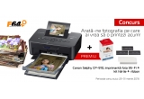 1 x imprimanta Wi-Fi Canon Selphy CP910 + Canon KP-108IN – kit hartie + ribbon Canon Selphy CP800/CP900