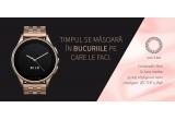1 x buchet de flori de la Floria + ceas inteligent Vector Watch Luna Rose Gold
