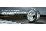 1 x anvelope Michelin Pilot Sport 4 ( set 4 bucati), 2 x kit produse Michelin Pilot Sport 4 (geaca + sapca + ceas + ochelari de soare + agenda+pix + geanta + dispozitiv multicable)