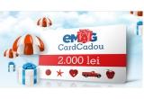 1 x voucher eMAG in valoare de 2.000 de lei