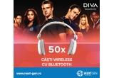 50 x pereche de casti audio bluetooth Diva