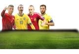 1 x Televizor LCD + PlayStation + Joc Fifa 2016, 1 x Televizor LCD, 1 x Brațara smart pentru fitness, 4 x lazi de bere + tricouri cu echipa naționala
