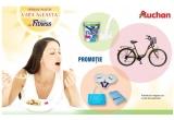 33 x bicicleta, 330 x Pachet plaja Nestle Fitness ce contine: prosop plaja + geanta plaja + set de palete plaja, 330 x Pachet Nestle Fitness pentru o luna