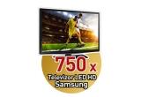 750 x Televizor LED HD Samsung, 1.512.000 x doza 0.5l bere Bucegi