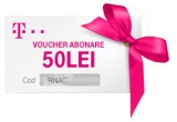 garantat: voucher Telekom cadou de 50 Lei