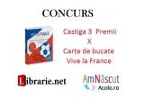 """3 x Cartea de bucate """"Vive la France!"""""""