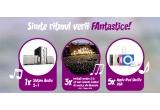 2 x Hoverboard, 3 x iPod Shuffle 2gb, 10 x Invitatie dubla la cel mai renumit festival de muzica din Romania, 1 x Sistem audio 5.1, 3 x Ipod Nano 16gb, 5 x pereche Casti Skullcandy, 10 x Tricou Music, 10 x Invitatie pentru 1 persoana la cel mai renumit festival de muzica din Romania, 3 x Invitatie VIP pentru 1 persoana la cel mai renumit festival de muzica din Romania, 1 x Sistem audio 5+1