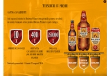 10 x simbrie de 20.000 ron, 400 x greutatea ta in bere, 250.000 x doza 0.5 Holsten Pilsner